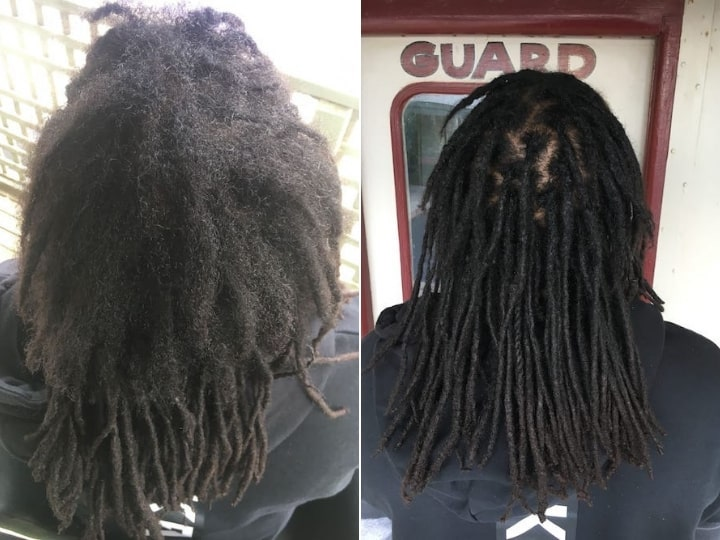 Dreadlocks repair reconstruction Auckland